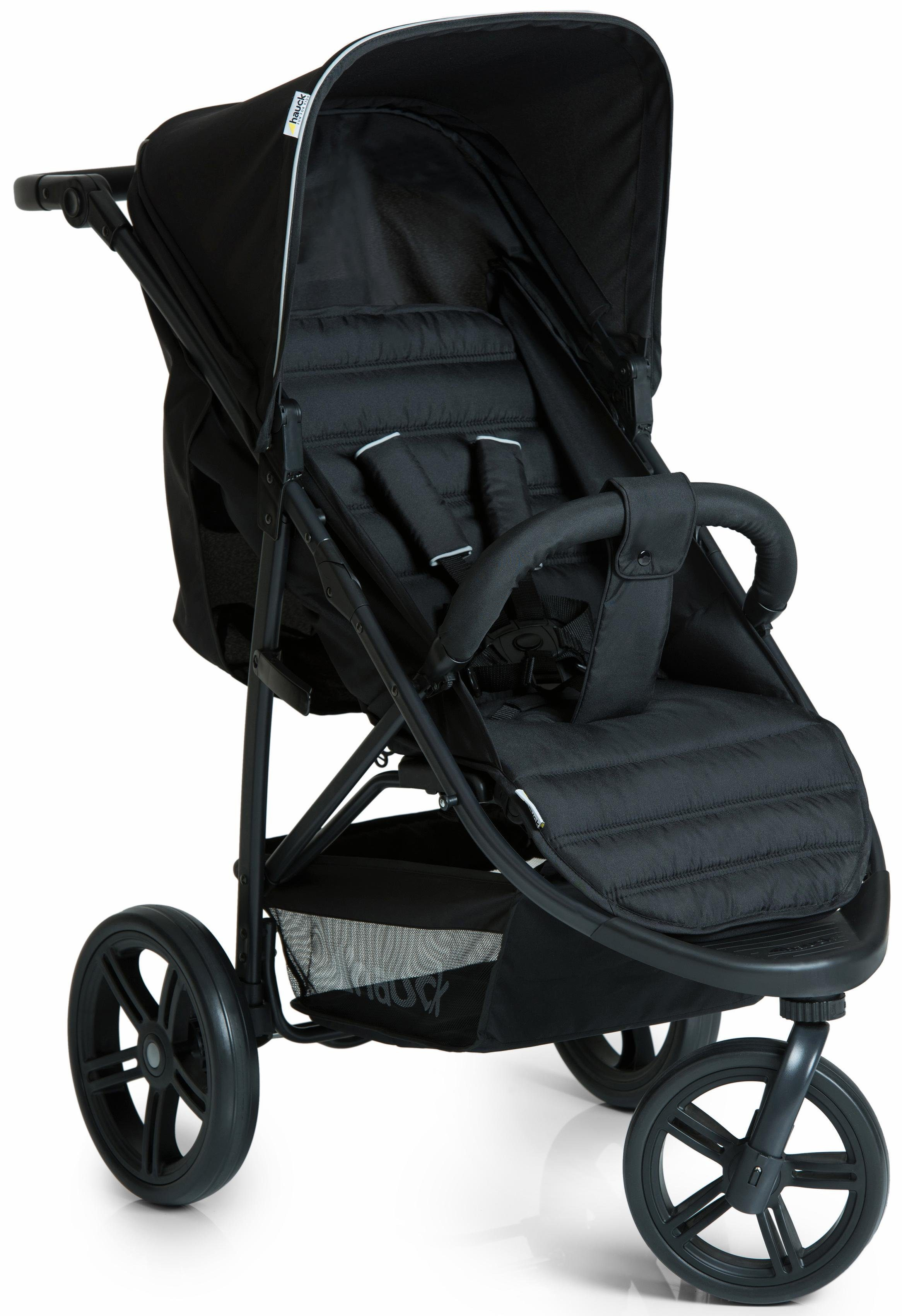 hauck FUN FOR KIDS Dreirad Kinderwagen, »Rapid 3 Caviar/Black«